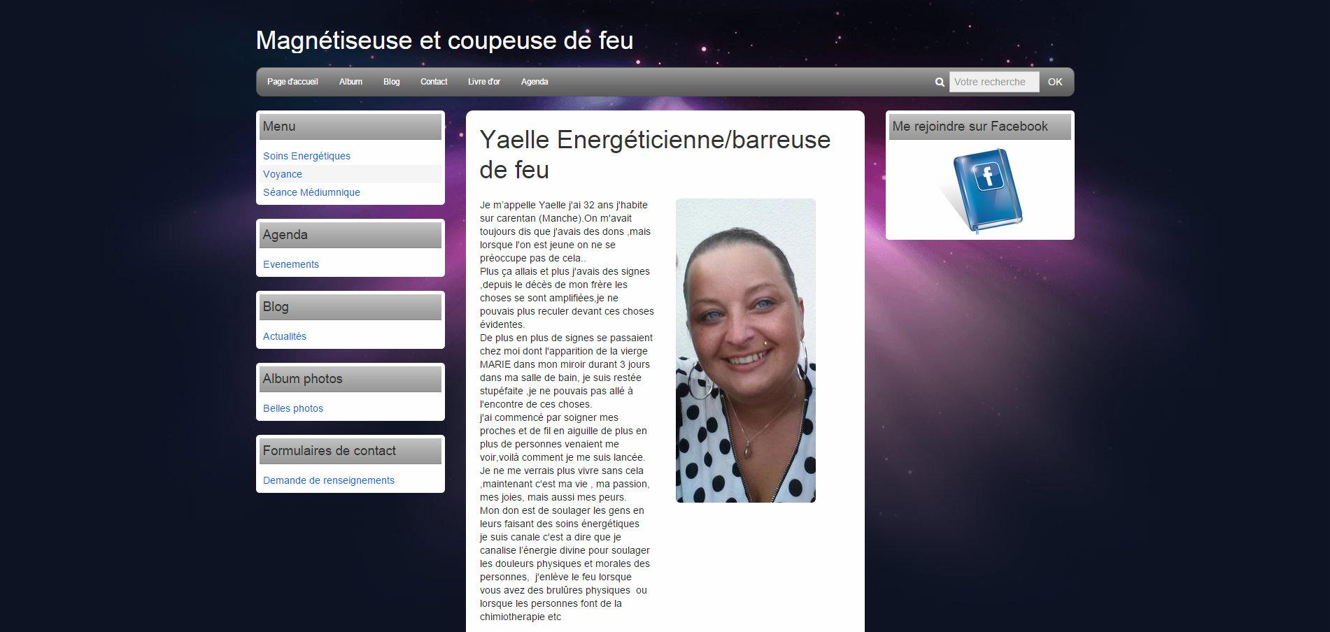 Yaëlle Energéticienne/barreuse de feu